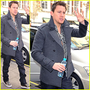 Channing Tatum Laughs Off 'Bodyguard' Casting Rumors