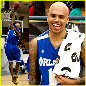 Chris Brown: Celebrity Charity Game!