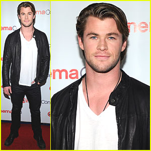 Chris Hemsworth: CinemaCon at Caesars Palace!