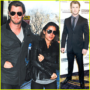 Chris Hemsworth: Cosmopolitan Fun Fearless Male Awards!