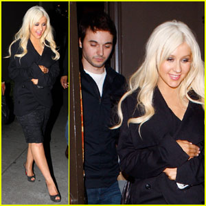 Christina Aguilera &#038; Matthew Rutler: Osteria Mozza Mates