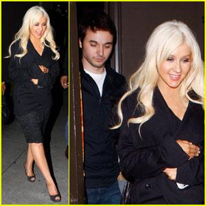 Christina Aguilera & Matthew Rutler: Osteria Mozza Mates