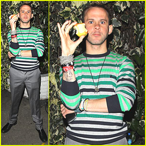 Dominic Monaghan: An Apple A Day...