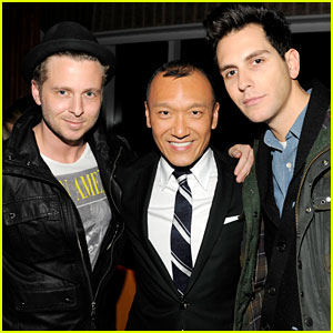Gabe Saporta: 'All On The Line' Premiere with Joe Zee!