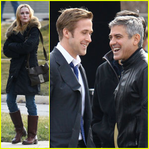 George Clooney Directs Ryan Gosling & Evan Rachel Wood