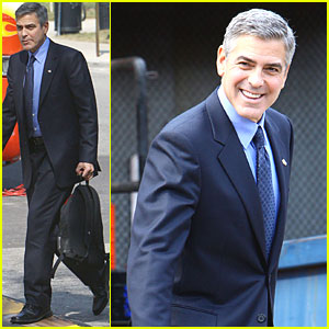 George Clooney Suits Up for 'The Ides of March'