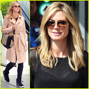 Heidi Klum Goes Out For Groc
