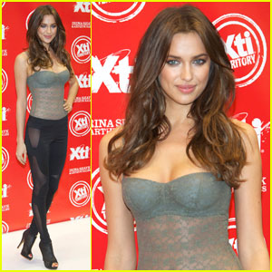 Irina Shayk: Xti Launch in Madrid!