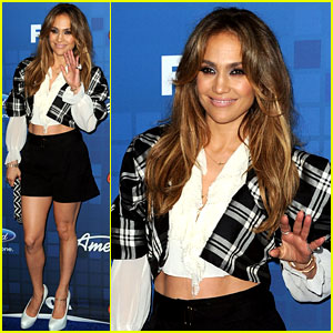 Jennifer Lopez: 'American Idol' Finalist Party!