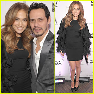 Jennifer Lopez & Marc Anthony: Montblanc Party!