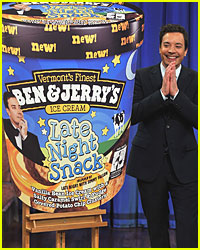 Jimmy Fallon Debuts Ben &#038; Jerry's Ice Cream Flavor