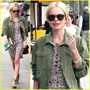 Kate Bosworth: Byron &#038; Tracey Salon Visit!