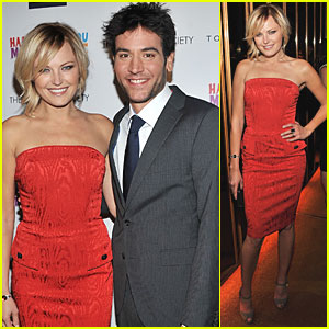 Malin Akerman: 'Happythankyoumoreplease' with Josh Radnor!