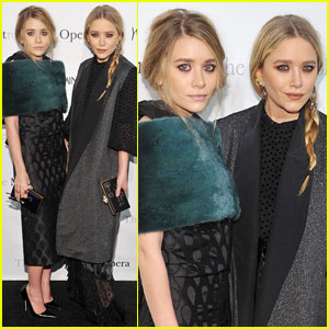 Mary-Kate Olsen & Ashley Olsen: Met Opera Premiere