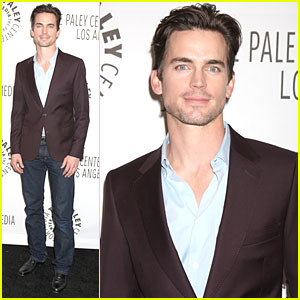 Matt Bomer: 'White Collar' at Paleyfest!
