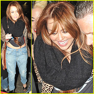 Miley Cyrus: SNL Afterparty in Murray Hill!