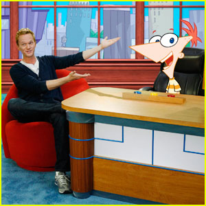 Neil Patrick Harris: Magic Tricks on 'Phineas and Ferb'!