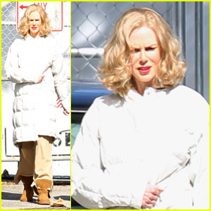 Nicole Kidman: Curly Hair & Uggs for 'Hemingway & Gellhorn'
