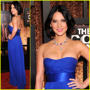 Olivia Munn - Comedy Awards Red Carpet