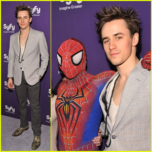 Reeve Carney: Spider-Man Hits Syfy Upfront!
