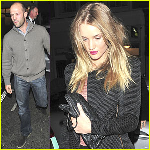 Rosie Huntington-Whiteley &#038; Jason Statham: Engagement Party!
