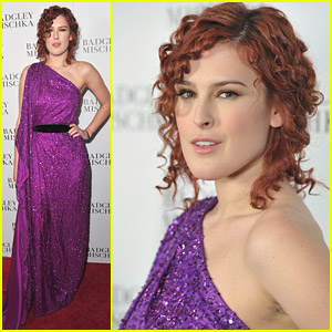 Rumer Willis: Badgley Mischka Flagship Opening
