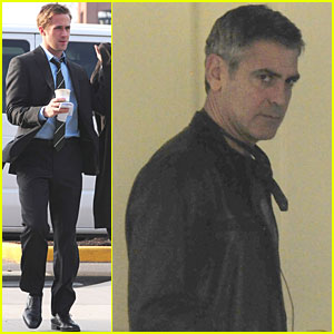 Ryan Gosling & George Clooney: 'Ides of March' in Oxford!