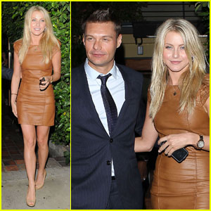 Ryan Seacrest & Julianne Hough: Ago Dinner Date