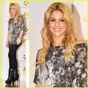 Shakira: 'S by Shakira' Fragrance Launch!