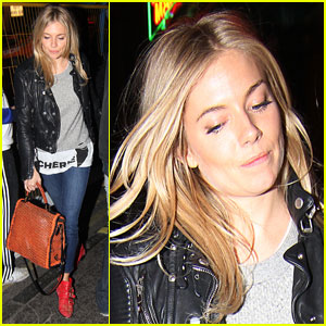 Sienna Miller: Post-Theater Clubbing