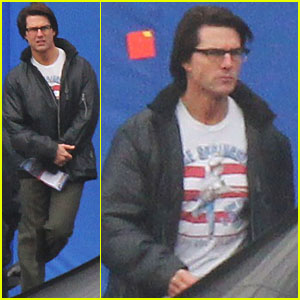 Tom Cruise: Bruce Springsteen Tee on 'M:I' Set!