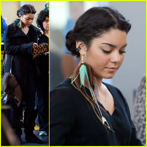 Vanessa Hudgens Flies Away with Feathers