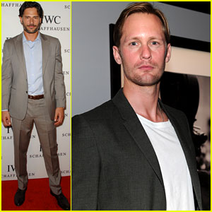 Alexander Skarsgard: Works of Art Celebration with Joe Manganiello!