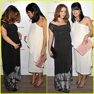 The star studded event also featured Sophia Bush, Christina Hendricks, ...