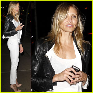 Cameron Diaz: Party Girl in NYC!
