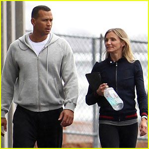 Cameron Diaz: Workout Session with Alex Rodriguez