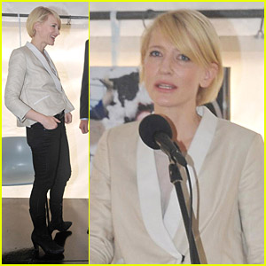 Cate Blanchett Launches Oasis: Homeless Short Film Competition