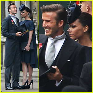 David Victoria Beckham Ready For The Royal Wedding