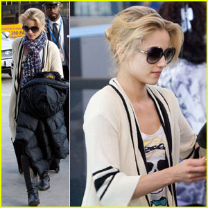 Dianna Agron: Chris Colfer 'Lives by Extreme Truth'