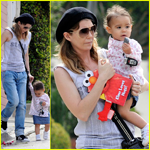 Ellen Pompeo: Day Out with Stella & Chris Ivery!