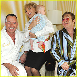 Elton John & David Furnish: Meet Baby Zachary This Friday!