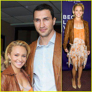 Hayden Panettiere &#038; Wladimir Klitschko: 'Hoodwinked Too' Twosome