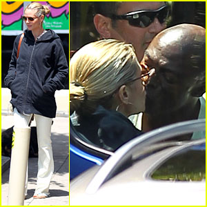 Heidi Klum & Seal: Grocery Shopping Couple!