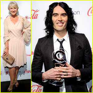 Helen Mirren & Russell Brand: CinemaCon Awards 2011!