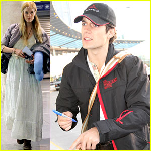 Henry Cavill & Isabel Lucas: Immortals in Montreal!