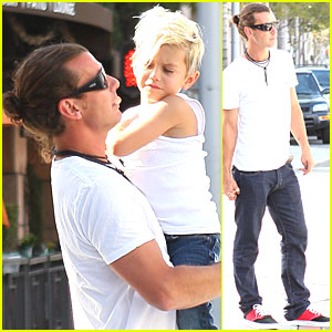 Gavin Rossdale & Kingston Scream for Ice Cream