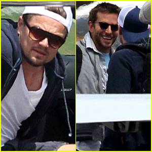 Leonardo DiCaprio: Bachelor Party with Bradley Cooper!