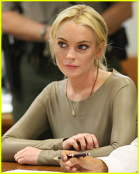 Lindsay Lohan Hides in Apartment from Dad