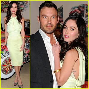 Megan Fox: Jaguar Party with Brian Austin Green