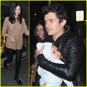 Miranda Kerr &#038; Orlando Bloom: Flying Fun With Flynn